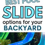 Pool Slide Options for Your Backyard Swimming Pool