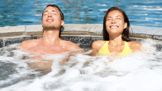 benefits of a hot tub